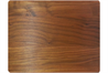 Walnut cutting board with rounded corners