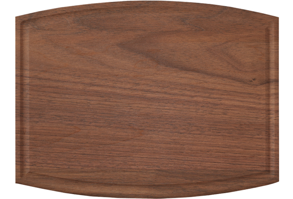 20 Wholesale cutting boards - Walnut cutting board (Arched)