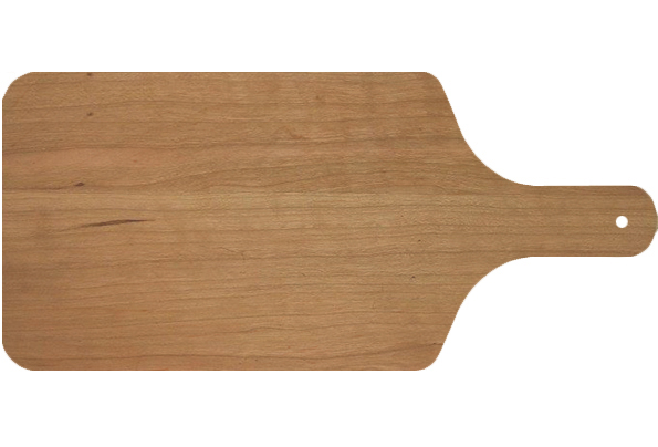 Cherry Wood Cutting Board with Handle