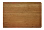 Wood Butcher Block with Juice Groove
