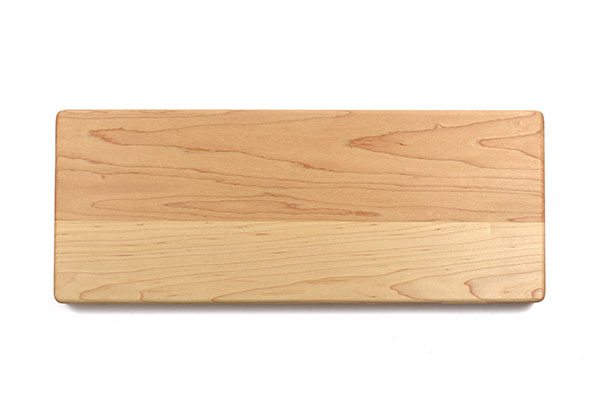 Small cheese and serving board with rounded edges