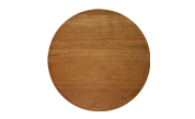 Round 10 1/2 inch wood cutting board