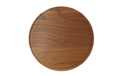 Small Round Wood Cutting Board with Juice Groove