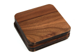 Square Walnut Wood Coasters
